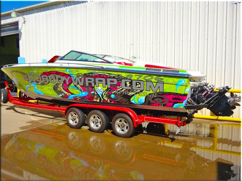 Boat Wraps Business Signs Vehicle Wraps Car Boat Marine