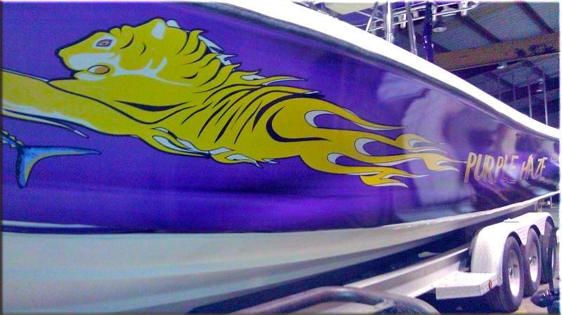 Big Daddy Wrap Boat Wraps Marine Sticker Decal Business