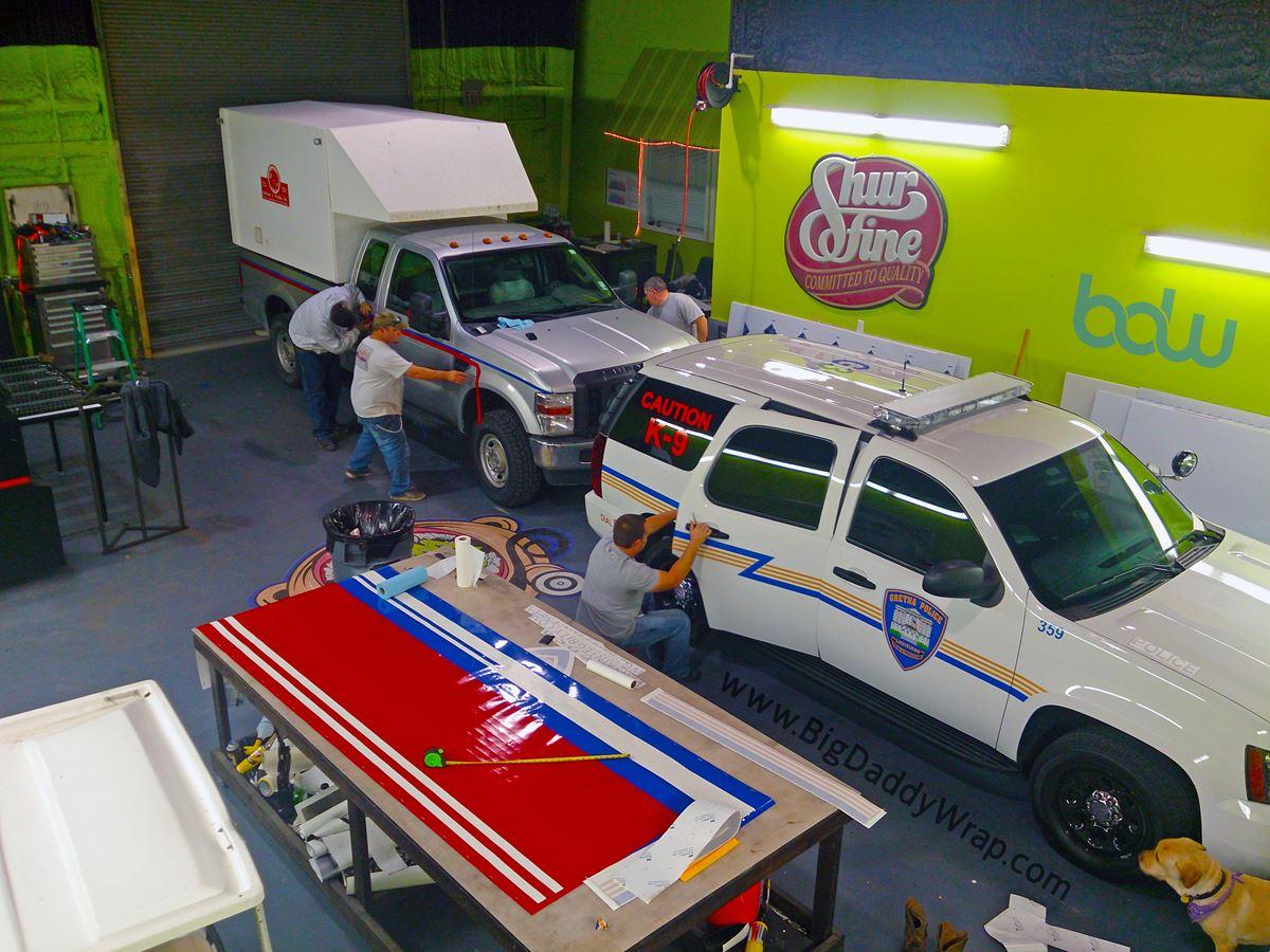 Business Signs Vehicle Wraps Car Boat Marine Vinyl Wraps
