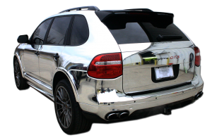 Chrome Wraps New Orleans Porche Cayenne Big Daddy Wrap